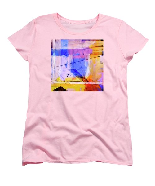 Women's T-Shirt (Standard Cut) featuring the painting Welder by Dominic Piperata