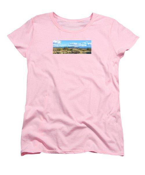 Women's T-Shirt (Standard Cut) featuring the photograph West Of Taos by Brenda Pressnall