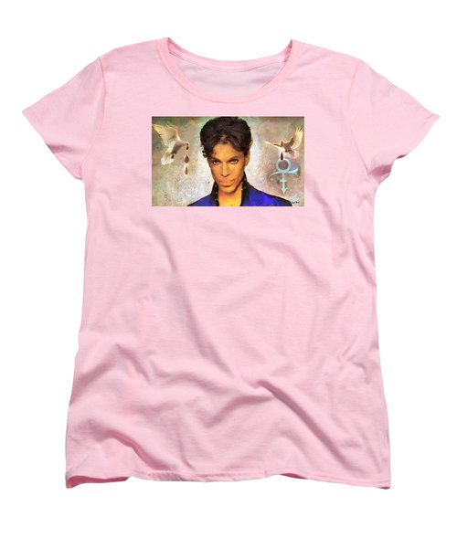 When Doves Cry Women's T-Shirt (Standard Cut) by Wayne Pascall