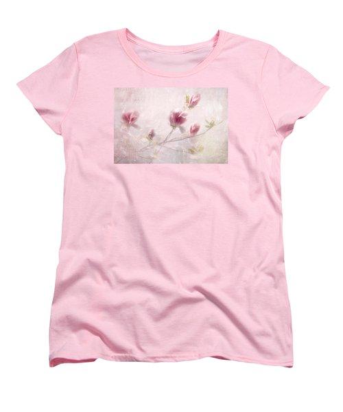 Whisper Of Spring Women's T-Shirt (Standard Cut) by Annie Snel