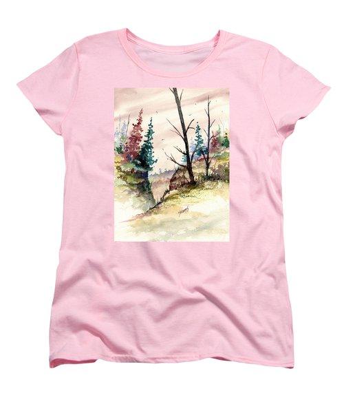 Wilderness II Women's T-Shirt (Standard Cut) by Sam Sidders