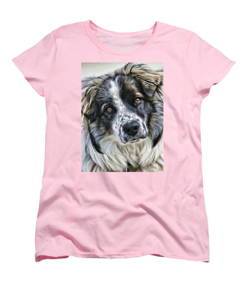 Women's T-Shirt (Standard Cut) featuring the photograph Will You Be My Friend by Rhonda McDougall