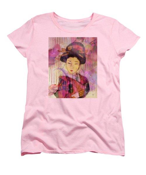 Willow World Women's T-Shirt (Standard Cut) by John Robert Beck