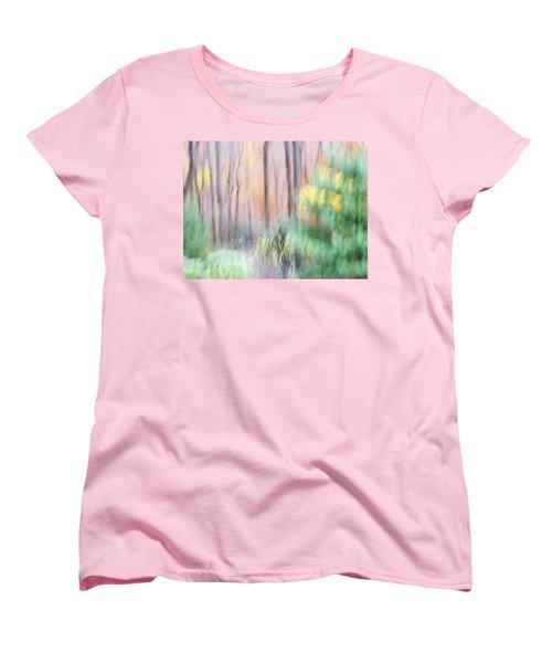 Woodland Hues 2 Women's T-Shirt (Standard Cut) by Bernhart Hochleitner