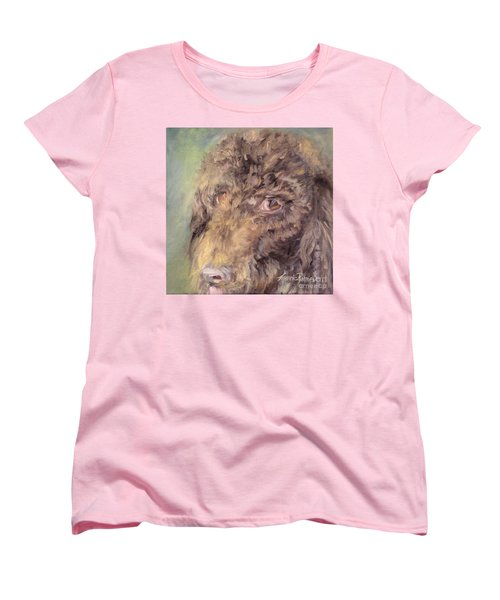 Woody Women's T-Shirt (Standard Cut) by Laurie Rohner