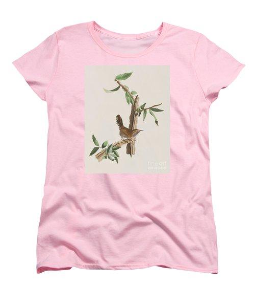 Wren Women's T-Shirt (Standard Cut) by John James Audubon