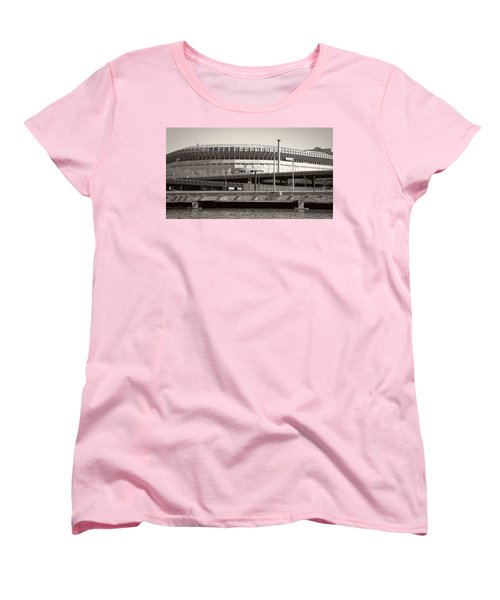 Yankee Stadium    1923  -  2008 Women's T-Shirt (Standard Cut) by Daniel Hagerman