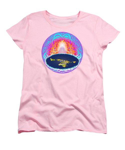 Yhwh Creation Women's T-Shirt (Standard Cut) by Hidden Mountain