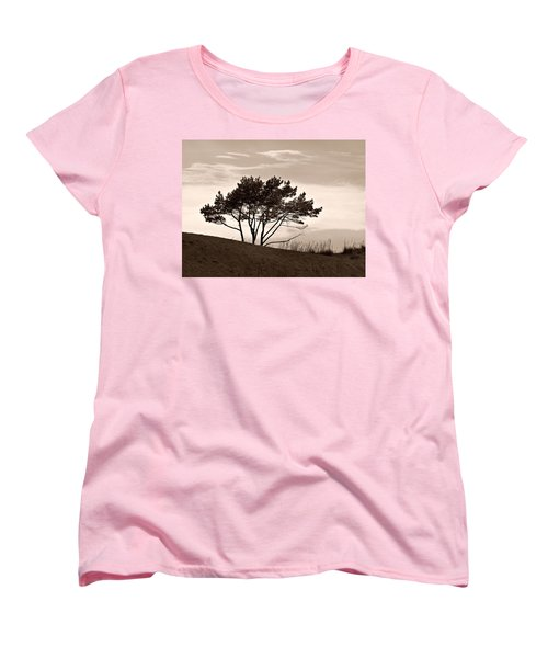 Women's T-Shirt (Standard Cut) featuring the photograph Yyteri Evening by Jouko Lehto