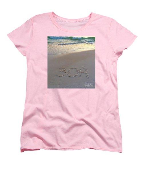 Beach Happy Women's T-Shirt (Standard Fit)