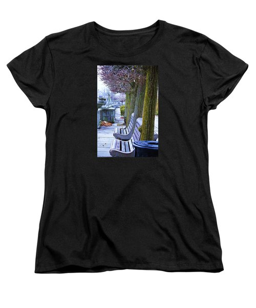 Women's T-Shirt (Standard Cut) featuring the photograph  Colours In The Park by Al Fritz