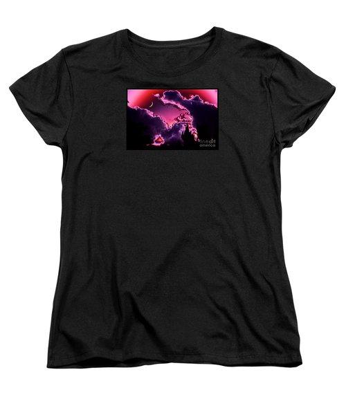 June Moon Women's T-Shirt (Standard Cut) by Susanne Still