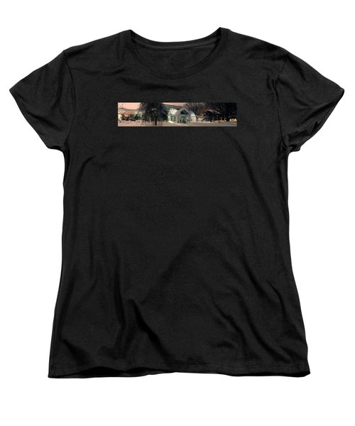 Lamberton Conservatory Women's T-Shirt (Standard Cut) by Richard Engelbrecht