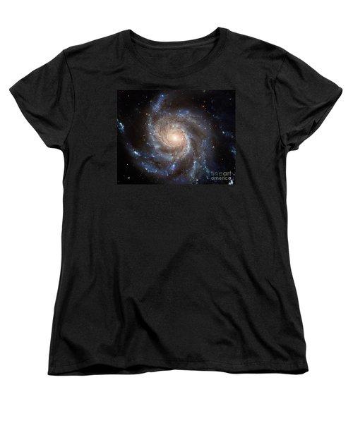 Messier 101 Women's T-Shirt (Standard Cut) by Barbara McMahon