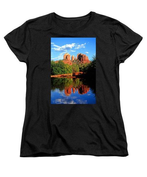 0464 Sedona Arizona Women's T-Shirt (Standard Cut) by Steve Sturgill