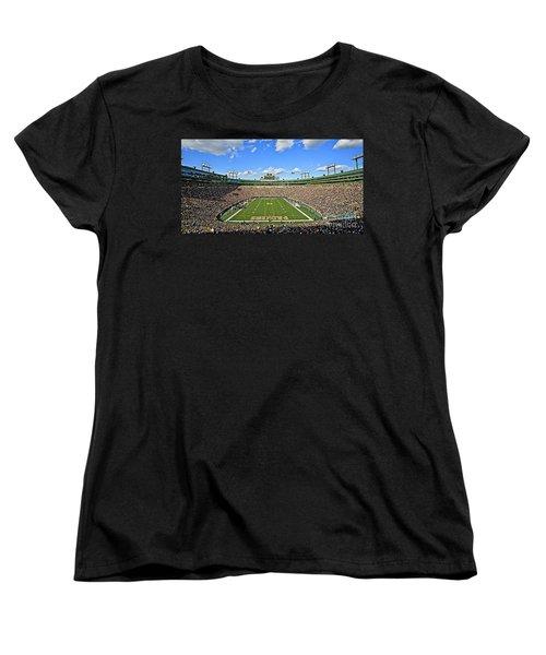 0539 Lambeau Field Women's T-Shirt (Standard Cut) by Steve Sturgill