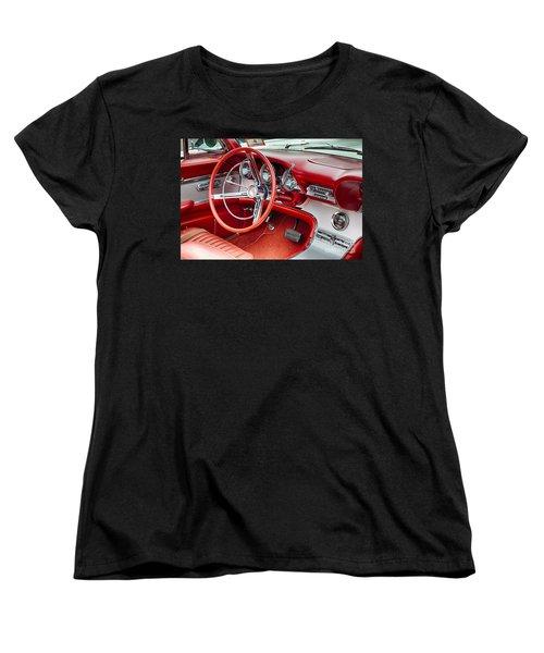62 Thunderbird Interior Women's T-Shirt (Standard Cut) by Jerry Fornarotto
