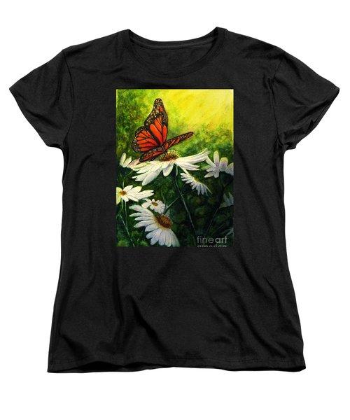 A Life-changing Encounter Women's T-Shirt (Standard Cut) by Hazel Holland