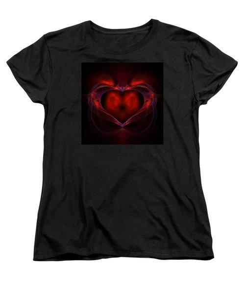 Aflame Women's T-Shirt (Standard Cut) by Lyle Hatch