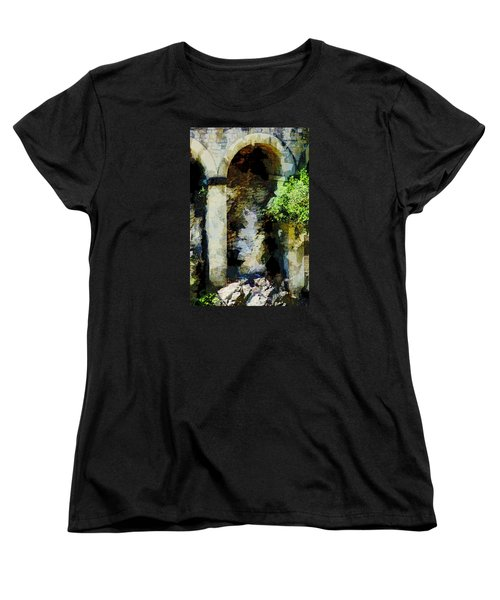 Arches Women's T-Shirt (Standard Cut) by John Stuart Webbstock