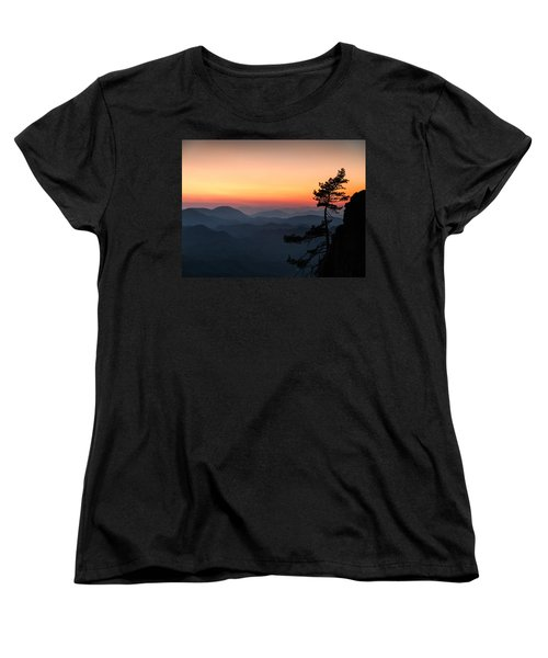 At The End Of The Day Women's T-Shirt (Standard Cut) by Davorin Mance