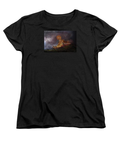 Back From The Nightmare Women's T-Shirt (Standard Cut) by Kate Black
