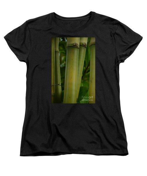 Women's T-Shirt (Standard Cut) featuring the photograph Bamboo II by Robert Meanor