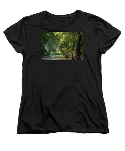 Beautiful Morning Women's T-Shirt (Standard Cut) by Kiran Joshi