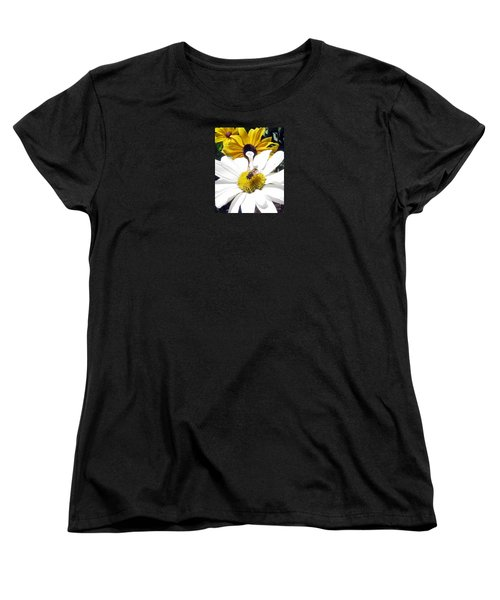 Women's T-Shirt (Standard Cut) featuring the photograph Beecause by Janice Westerberg