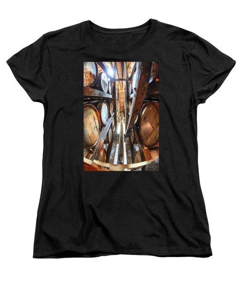 Bourbon Warehouse Women's T-Shirt (Standard Cut) by Alexey Stiop
