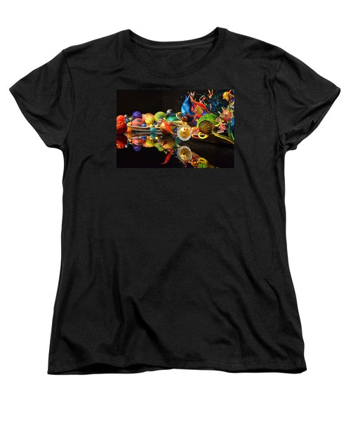 Chihuly-14 Women's T-Shirt (Standard Cut) by Dean Ferreira