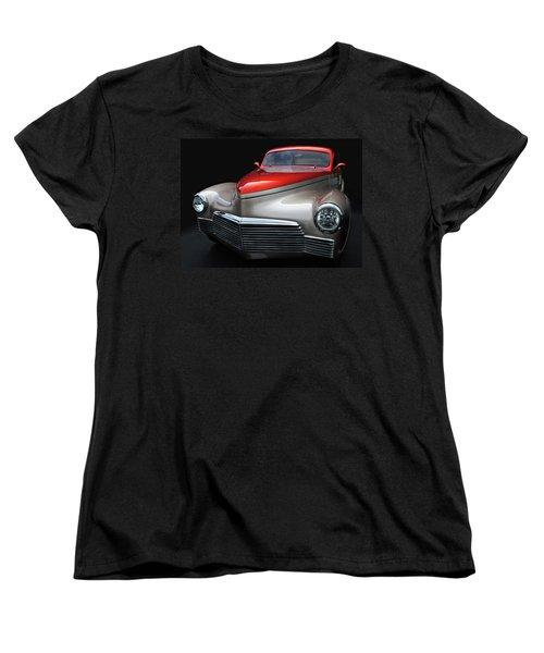 Women's T-Shirt (Standard Cut) featuring the photograph Custom Car Detail by Dave Mills