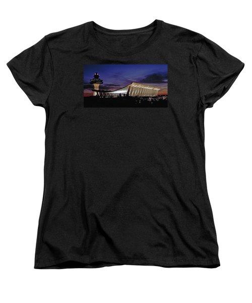 Dulles International Women's T-Shirt (Standard Cut) by Greg Reed