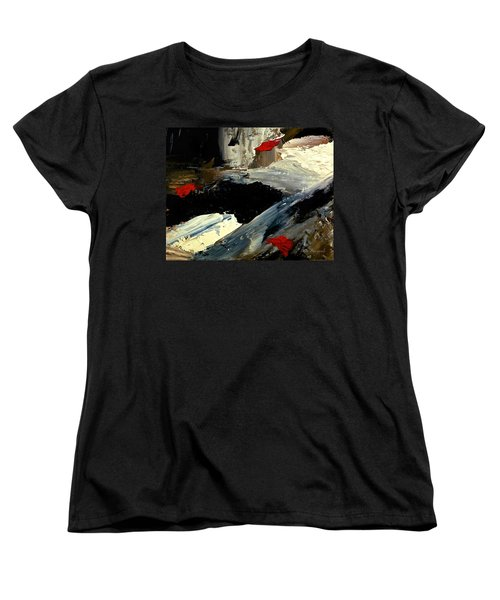 Flume Women's T-Shirt (Standard Cut) by Dick Bourgault