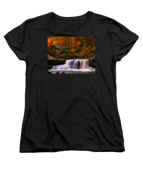 Glade Creek Grist Mill Women's T-Shirt (Standard Cut)