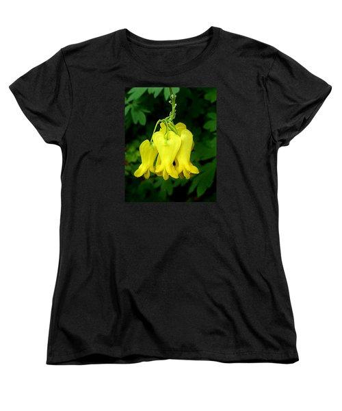 Women's T-Shirt (Standard Cut) featuring the photograph Golden Tears Vine by William Tanneberger