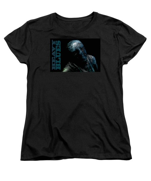 Women's T-Shirt (Standard Cut) featuring the photograph Heavy Blues by WB Johnston