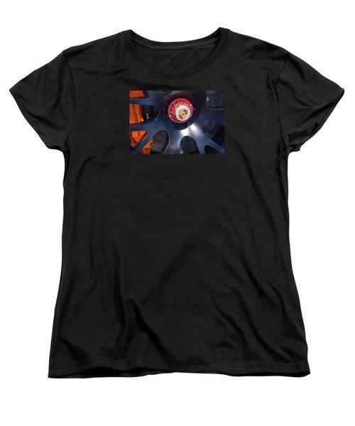 Hybrid Wheel  Women's T-Shirt (Standard Cut)