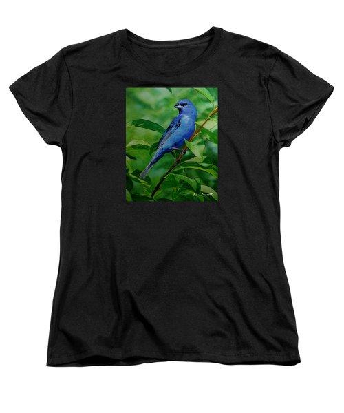 Indigo Bunting Women's T-Shirt (Standard Cut)