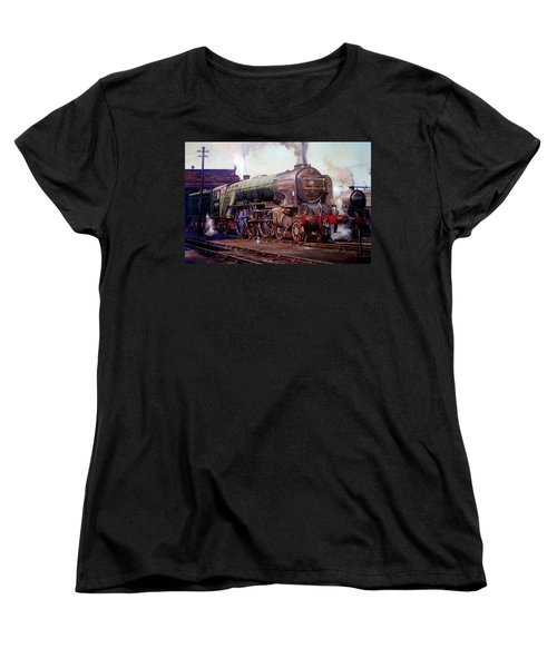 Kenilworth On Shed. Women's T-Shirt (Standard Cut) by Mike  Jeffries