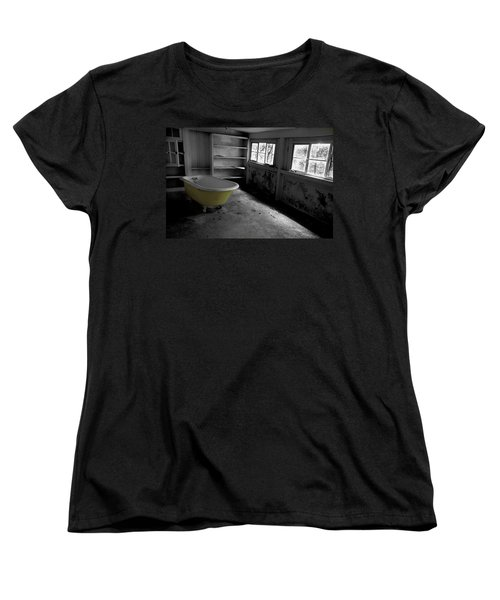 Left Behind Women's T-Shirt (Standard Cut) by Michael Eingle