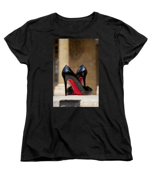 Louboutin Heels Women's T-Shirt (Standard Cut) by Brian Jannsen
