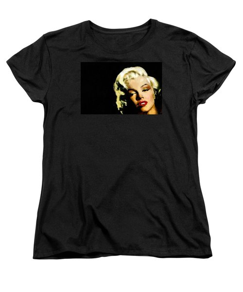 Marilyn Monroe Women's T-Shirt (Standard Cut) by Georgi Dimitrov