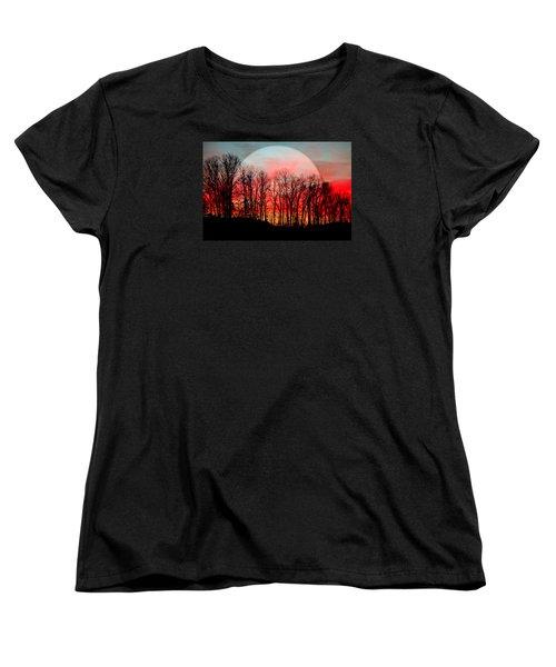 Moon Dance Women's T-Shirt (Standard Cut)