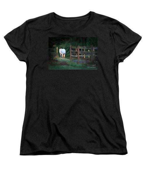 Self Assurance Women's T-Shirt (Standard Cut) by Michelle Twohig