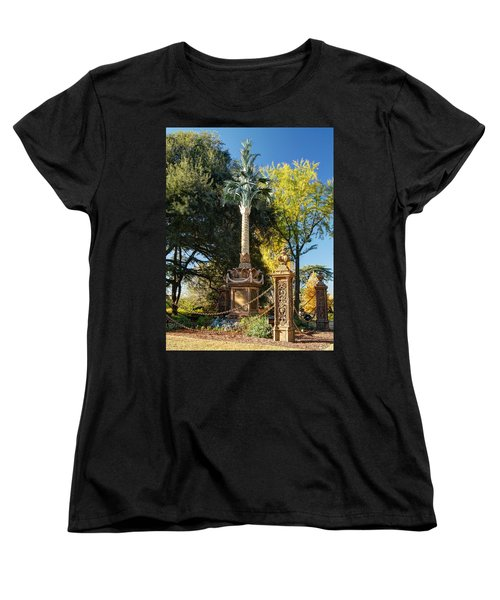 Palmetto Regiment Monument  Women's T-Shirt (Standard Cut) by Charles Hite