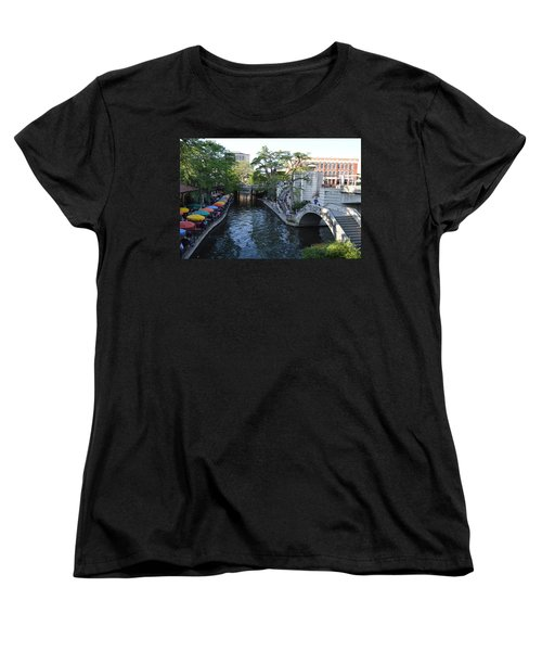 Sa River Walk 2 Women's T-Shirt (Standard Cut) by Shawn Marlow