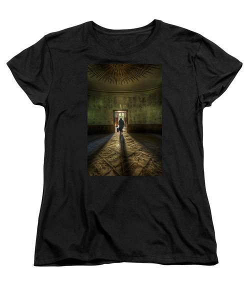 Step Into The Light Women's T-Shirt (Standard Cut) by Nathan Wright