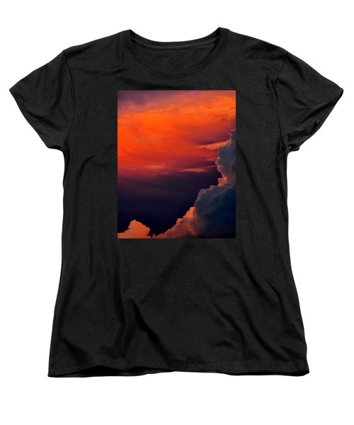 Storm Moving In 16101 Women's T-Shirt (Standard Cut) by Jerry Sodorff