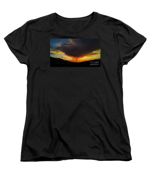 Storms Coming Women's T-Shirt (Standard Cut) by Chris Tarpening
